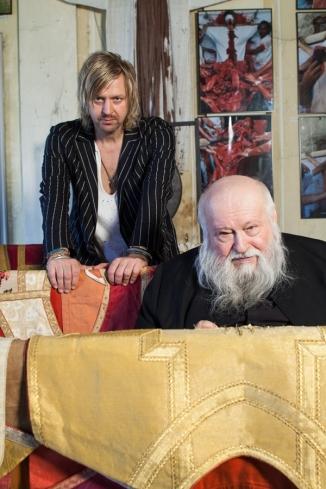 Piotr Uklański & Hermann Nitsch Пётр Укляньский и Герман Нитч