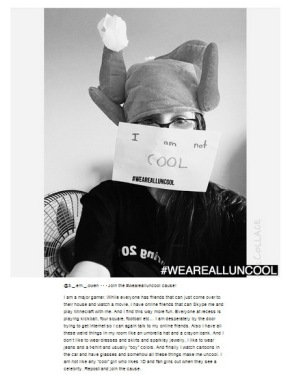 #wearealluncool