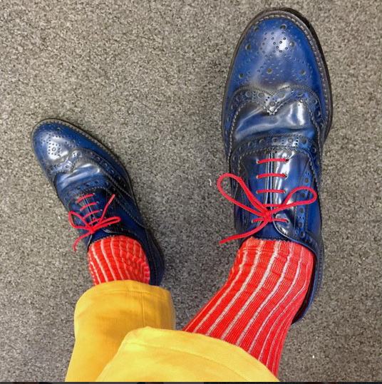 Socks. Richard Aloisio New York Times Art Director