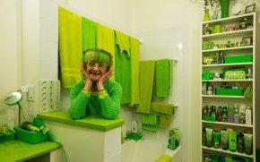 Elizabeth Sweetheart. The Green Lady of Brooklyn. Hiroko Masuike/The New York Times