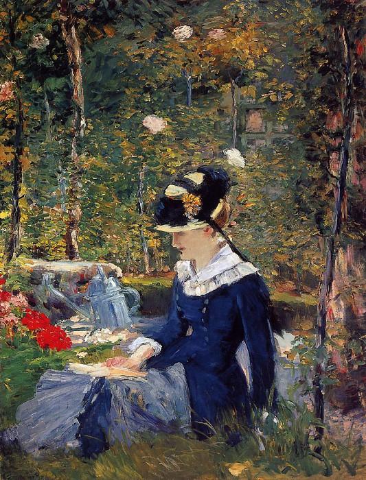 Мане, Девушка в саду