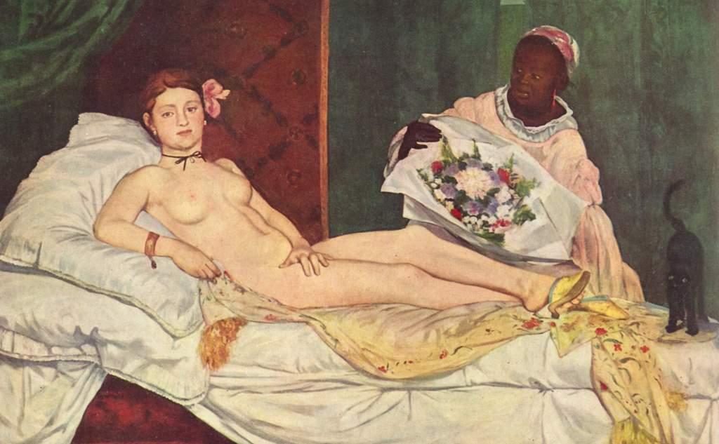 manet painting essay