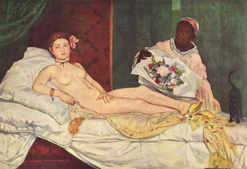 Edouard Manet Олимпия