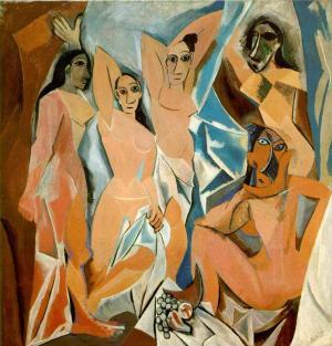 Pablo Picasso Desmoiselles 'Avignon