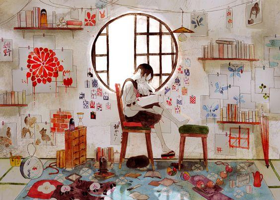иллюстратор Япония