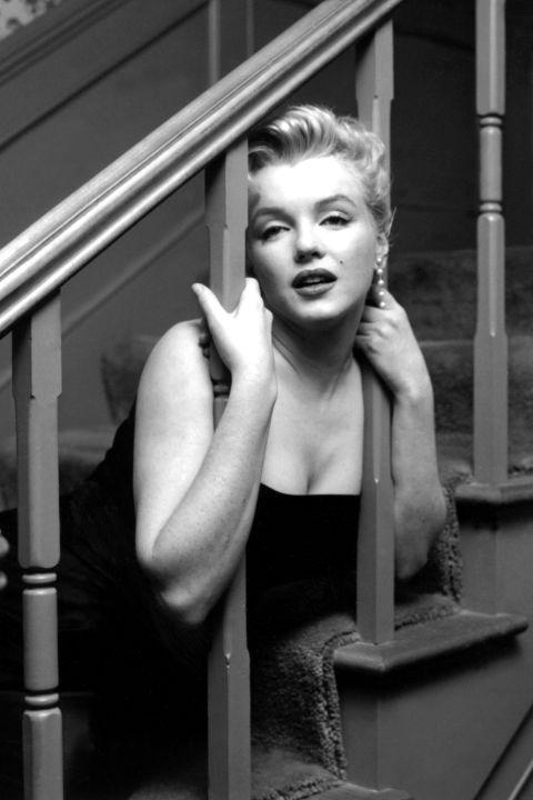 Мэрилин Монро в своём доме. 1956 год