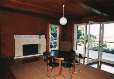 Living room in Einstein's summer house
