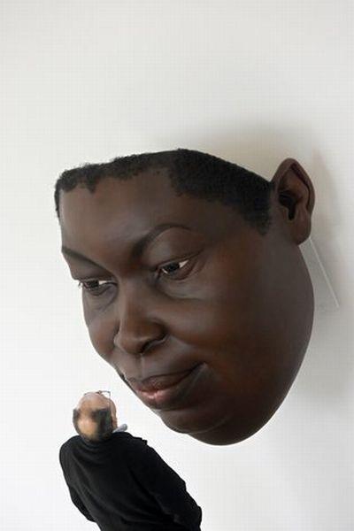 mueck hurmahurma art супер скульптура